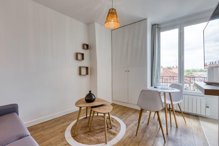 Beau studio proche Paris