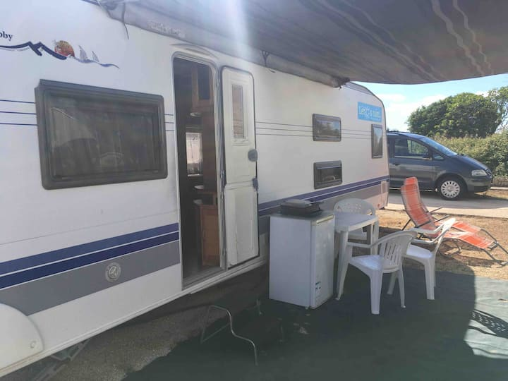 Luxusní klimatizované karavany v Chorvatsku