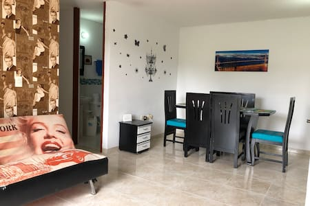 Comfortable Apt with A/C and pool 8 guests Cucuta