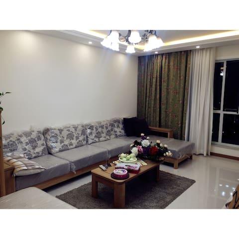 城市中心现代感两居室 - 赤峰市 - Apartamento