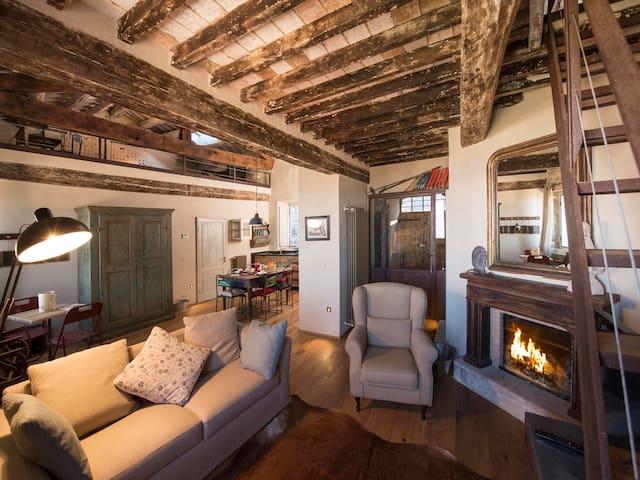 Casa nel Dentro - Beautiful 100m2 in Val d'Orcia - Campiglia D'orcia - Huoneisto