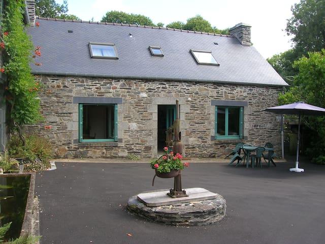Le Cosquer - Le calme au coeur de la Bretagne - Saint-Gelven - Naturhytte