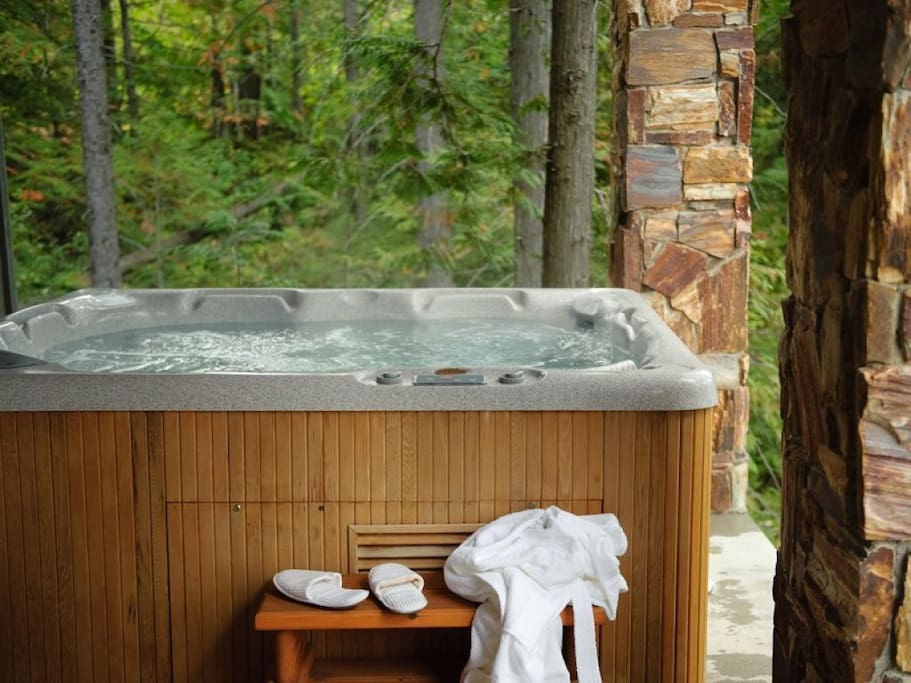 Snow Creek Cabin 506 - hot tub