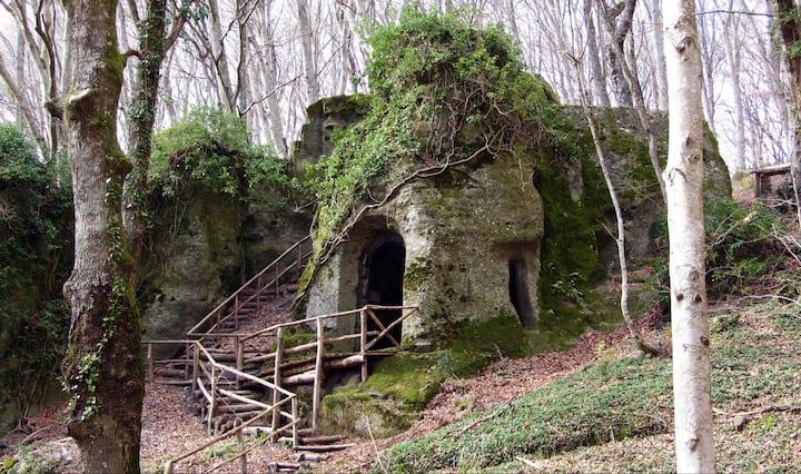 The ancient hermitage of San Girolamo