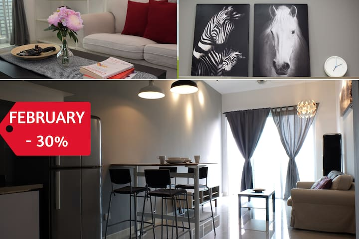 Romantic Home for Couples, 5 mins to Mid Valley KL