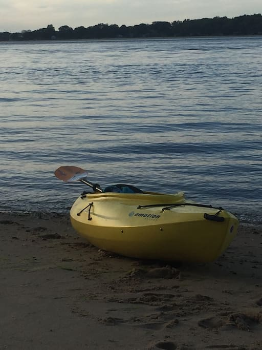 Single and double kayaks available