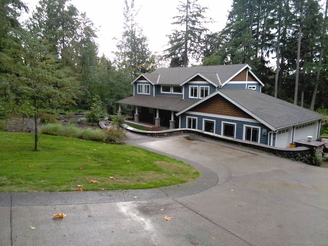 Issaquah home with a view