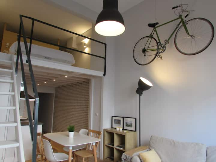 Cozy Loft in Santander city center