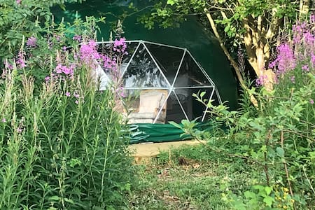 Bästekille Glamping - Tweed Dome.