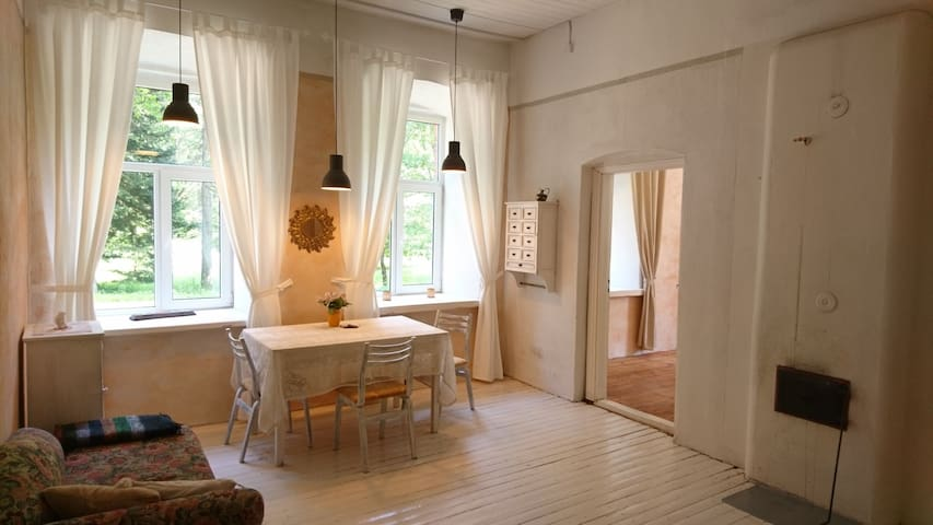 Cosy 2-room apartement in idyllic small village