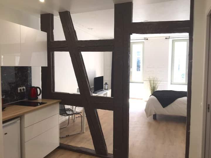 studio hyper centre prox cathédrale /kleber
