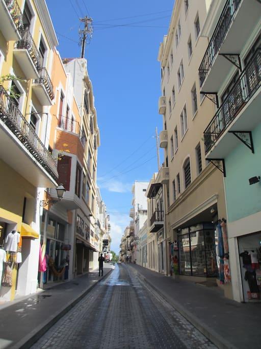 South Fortaleza street.