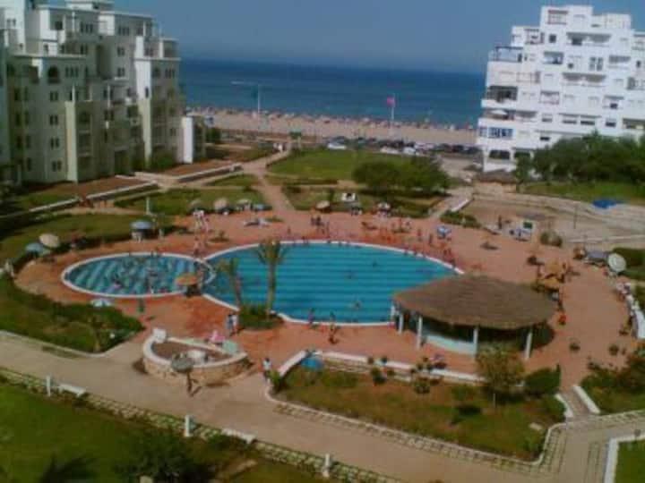 Appartement à coté de la plage