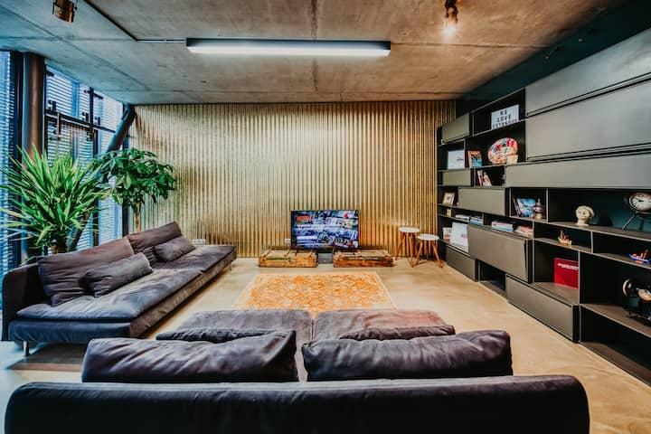 Luxurios, high-end, high-tech Loft in Galata