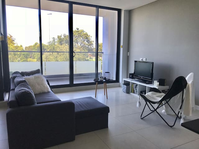 Private room in a brand new apartment