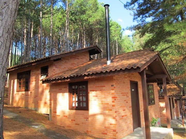 Cabana DLX - 2 pessoas / Parque da Cachoeira