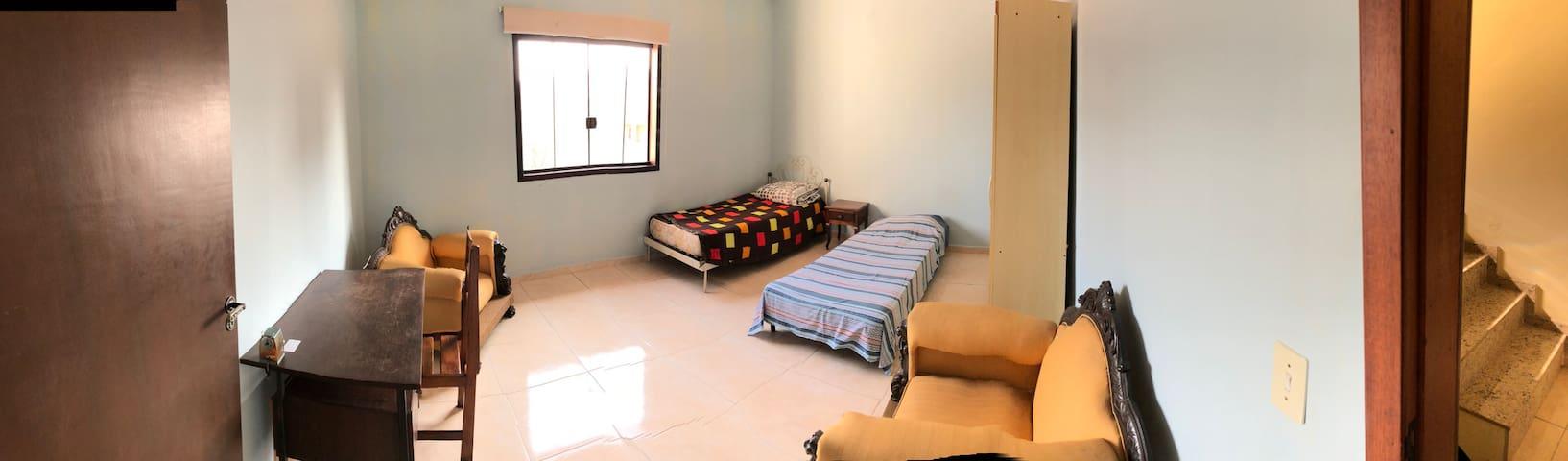 Habitación aconchegan,agradável ciudad Santo Andre