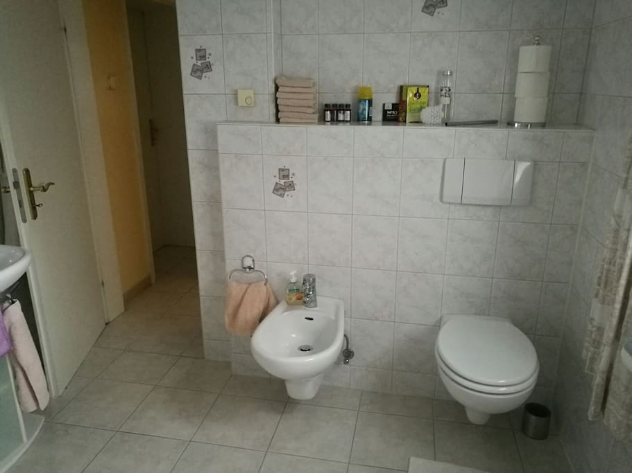Großes Badezimmer / Bathroom