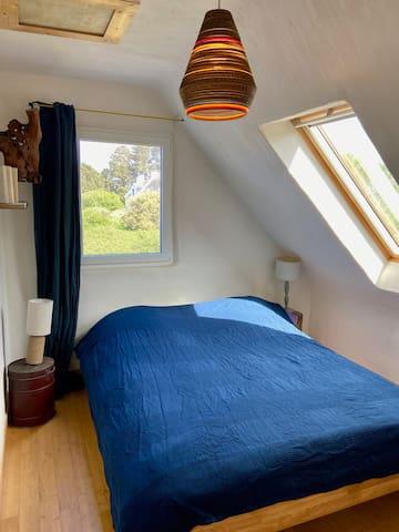 Chambre N°5 en haut : lit double 160