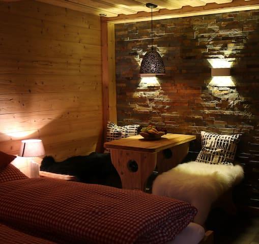 romantisches Doppelzimmer mit Sauna
