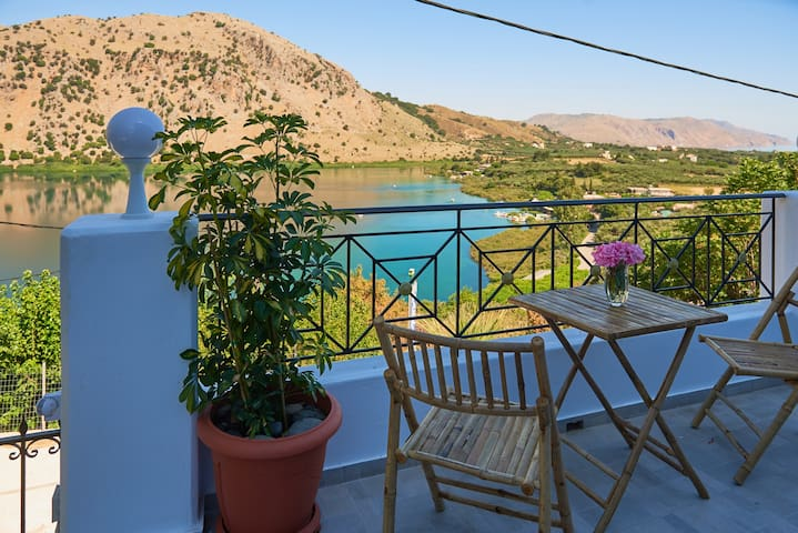 Private Villa near Lake Kournas★ Brand New Pool!