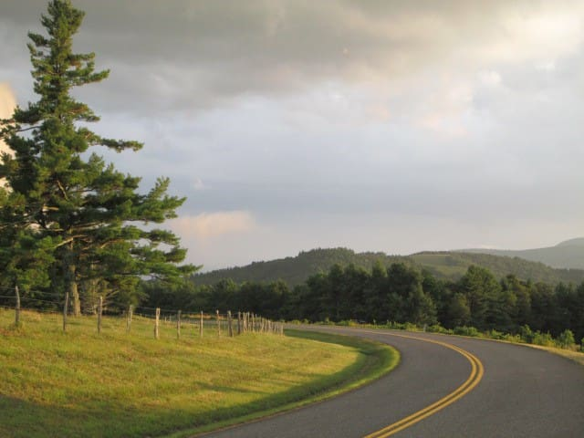 Cruising the Blue Ridge Parkway