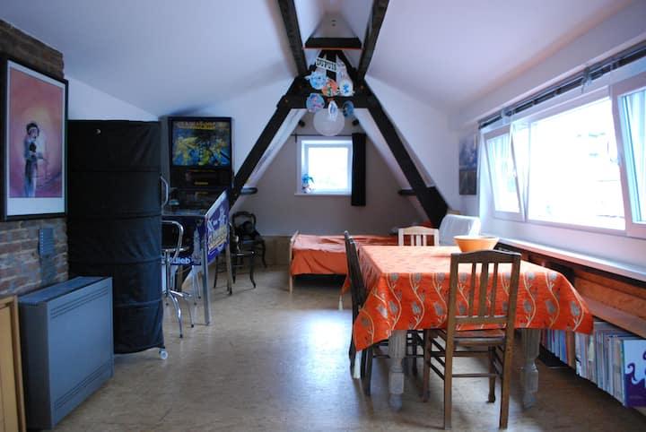 Ghent Creativo private studio met gratis fietsen