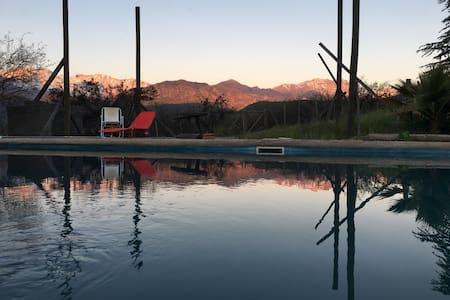 Cabaña montaña - Chacayes, Rsva. Nac.Los Cipreses
