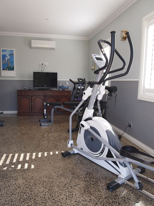 Gym to support a healthy lifestyle