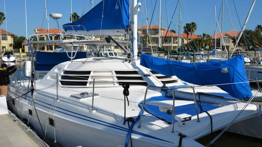 41' Luxury Sailing Catamaran St. Augustine!