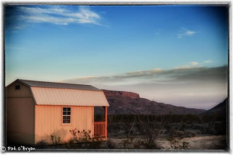 Private Cabin + Big Stars - Terlingua - Big Bend