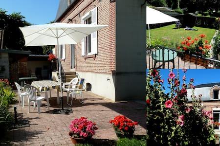 """Gîte """"Les Cottières"""" 10 personnes, Baie de Somme - Saint-Valéry-sur-Somme"""