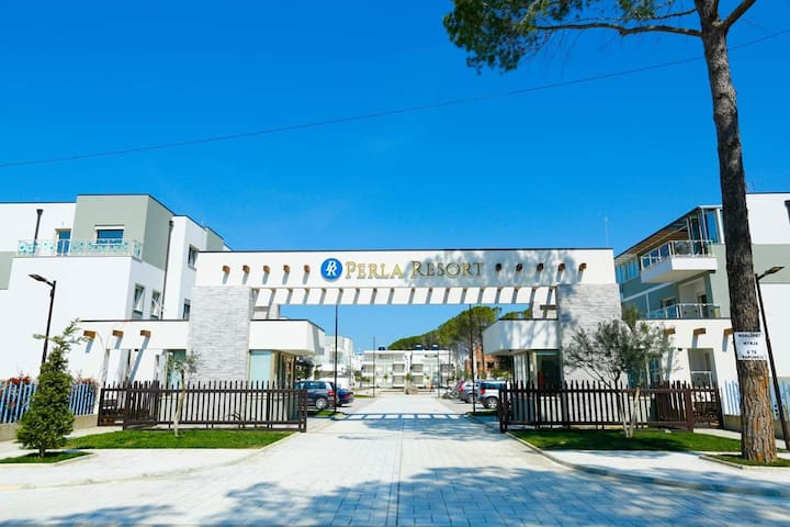 Apartament 1+1 ,Perla Resort,Gjiri Lalzit