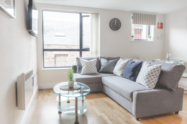 Cosy 1 Bed Apt. 2mins to Liverpool One!