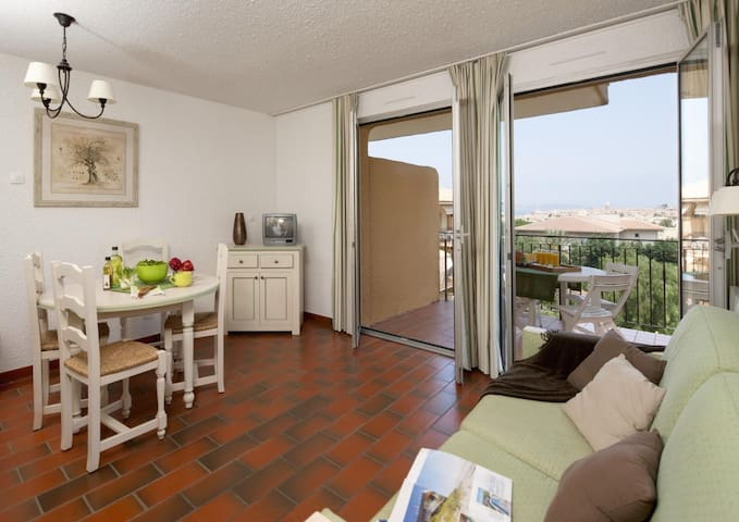 Appartement 4 pers St-Tropez avec grande piscine - Saint-Tropez - Lejlighed