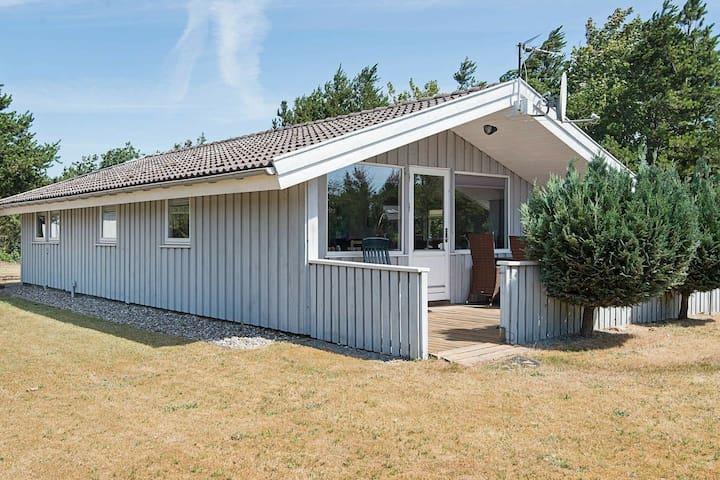 Knus vakantiehuis in Jutland dicht bij de zee