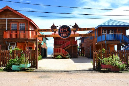 HFC Lodge-5 Cabins - Placencia - Chatka