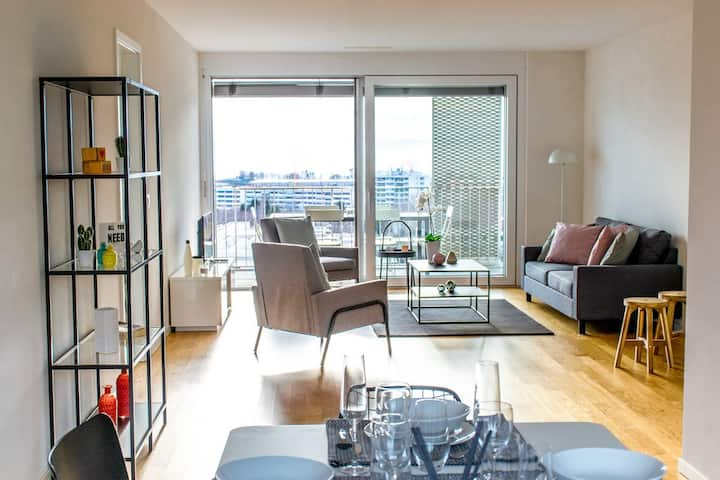 Spacious and modern 3.5 rooms in Lausanne