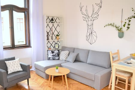 Prestige Apartment 3 separate sleeping space - Krakova - Huoneisto