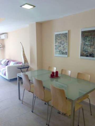 Bright and modern apartment - Murcia - Daire