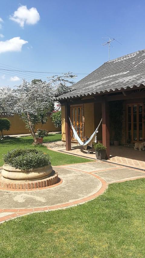 Natuur, mooi huis in Tiquipaya