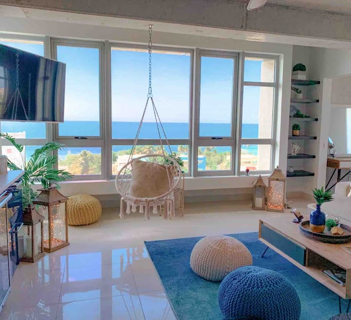 Luxury Condo w/Amazing Ocean Views by Old San Juan