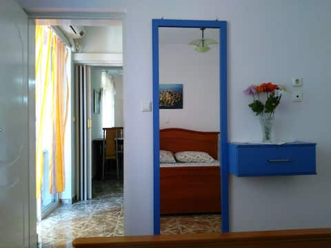 My blue apartment