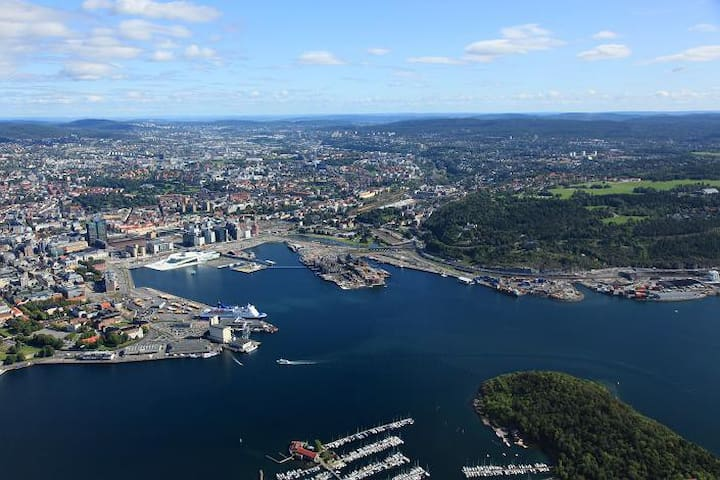 In the heart of Oslo's most popular place - Oslo - Apartament
