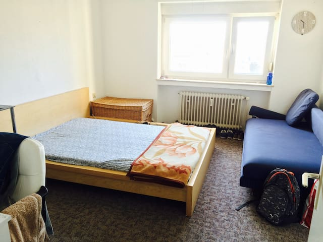 Single room (15m²) ,Toilet & Bathroom ,Kitchen - Eppelheim - Byt