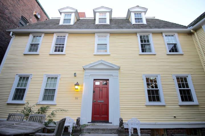 Grand Colonial in Historic Boston.