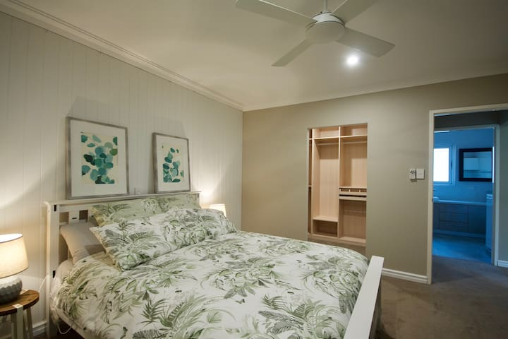 Master Bedroom with the built in robe