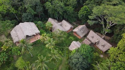 Jungle private cabin near Tayrona