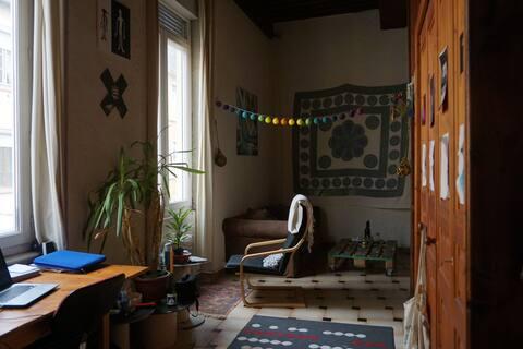 Petit appartement typique de la Croix Rousse