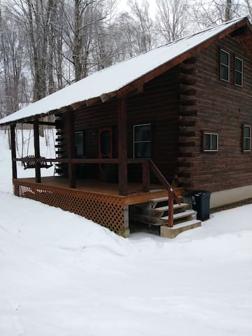 """The Cabin at Snowmist Farm"""